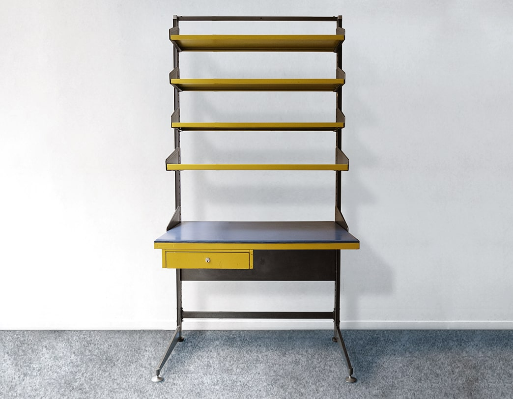60's Industrial Steel Desk