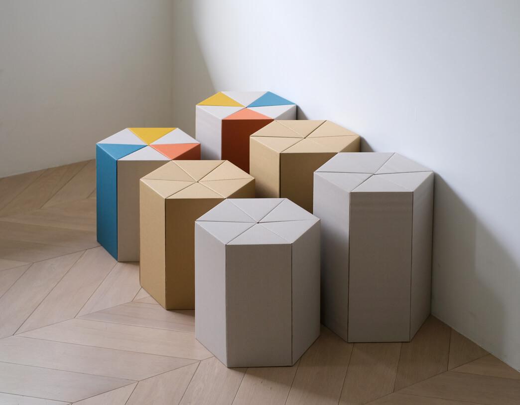 Carton Furniture Riki Stool Low Metrocs